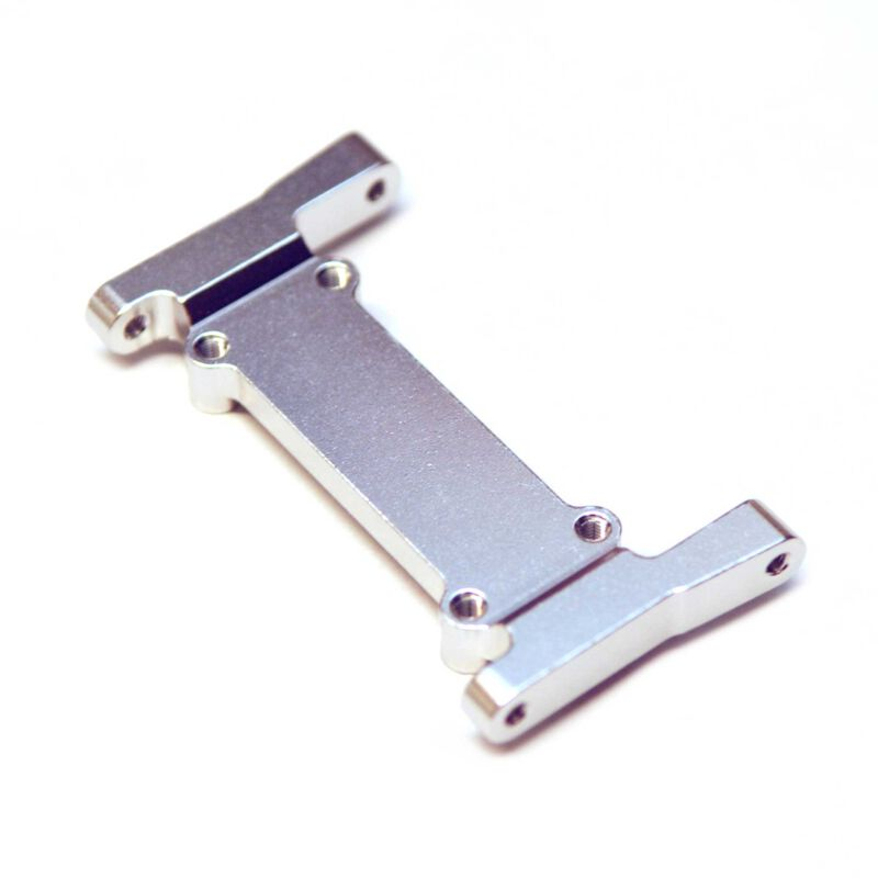 Battery Tray Mount Front Chassis Brace, Silver: Element Enduro