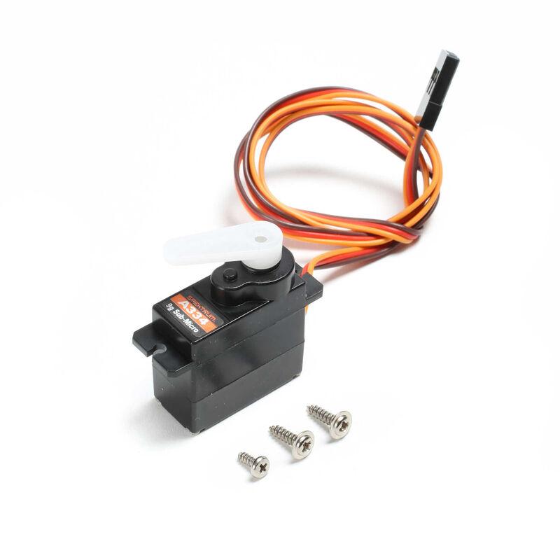 Sub-Micro Digital 9g Plastic Gear Servo