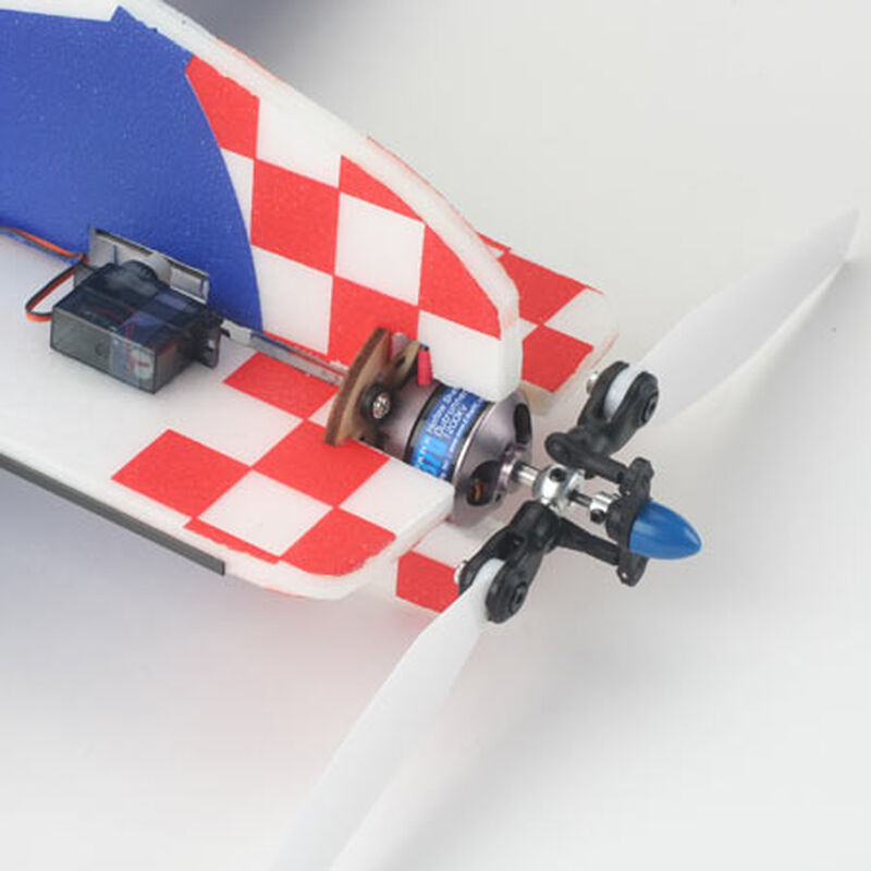 Park 370 Brushless Outrunner, 1200Kv with 4mm Hollow Shaft: 3.5mm Bullet