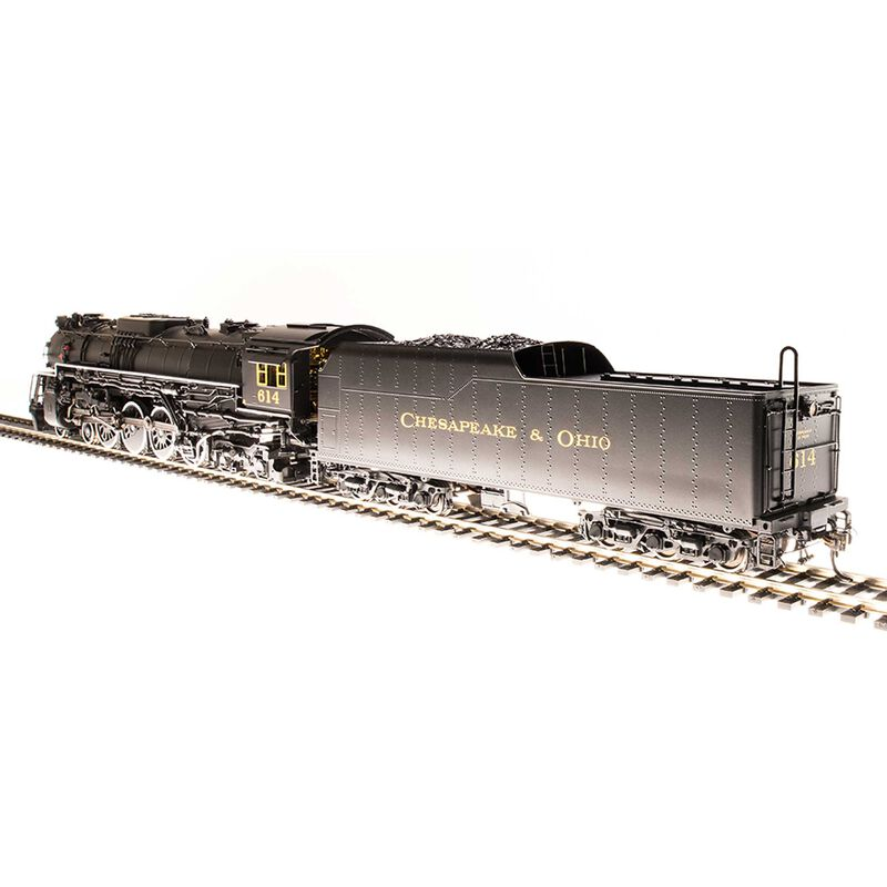 HO Brass J3a 4-8-4 w DCC & Paragon 3 C&O #610