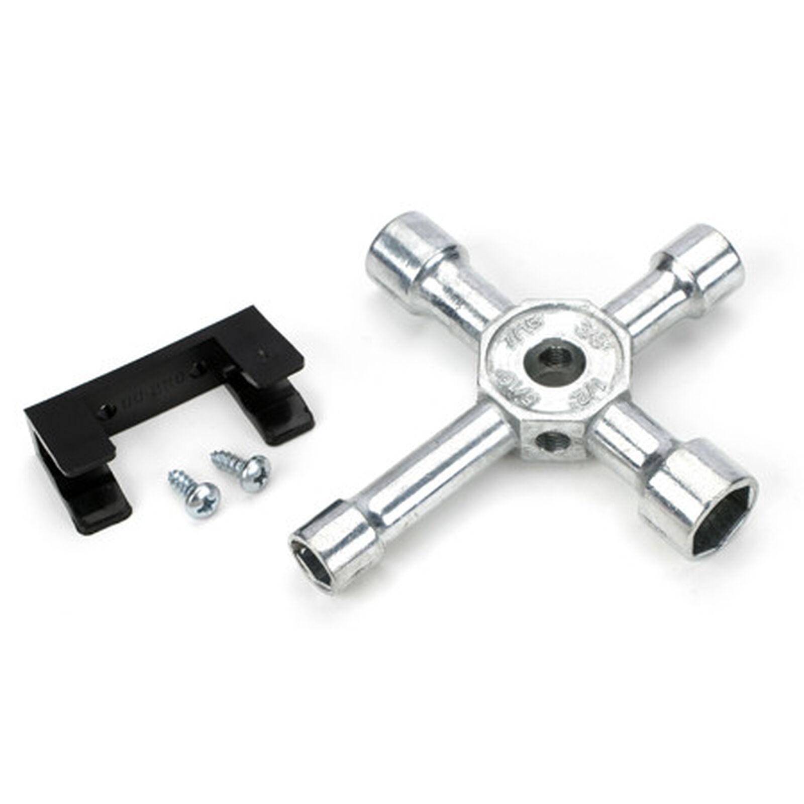 Socket Wrench 4-Way