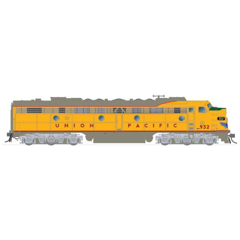 HO EMD E8A (DC/Silent): Union Pacific: #932