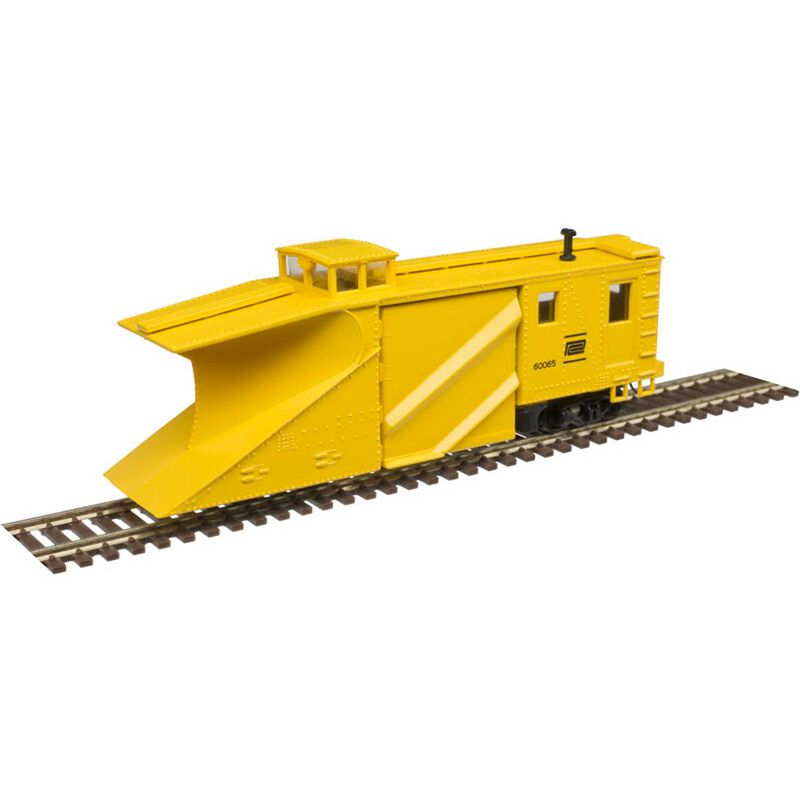 N Russell Snow Plow Penn Central 60065