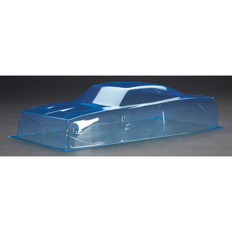 1/10 1969 D Style Stock Car Clear Body