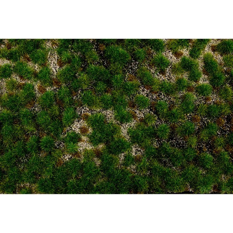 """11.75"""" x 7.5"""" Tufted Grass Mat Gold"""