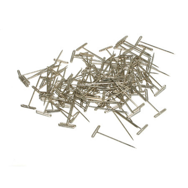 "T-Pins, Nickel Plated, 1-1/2"" (100)"