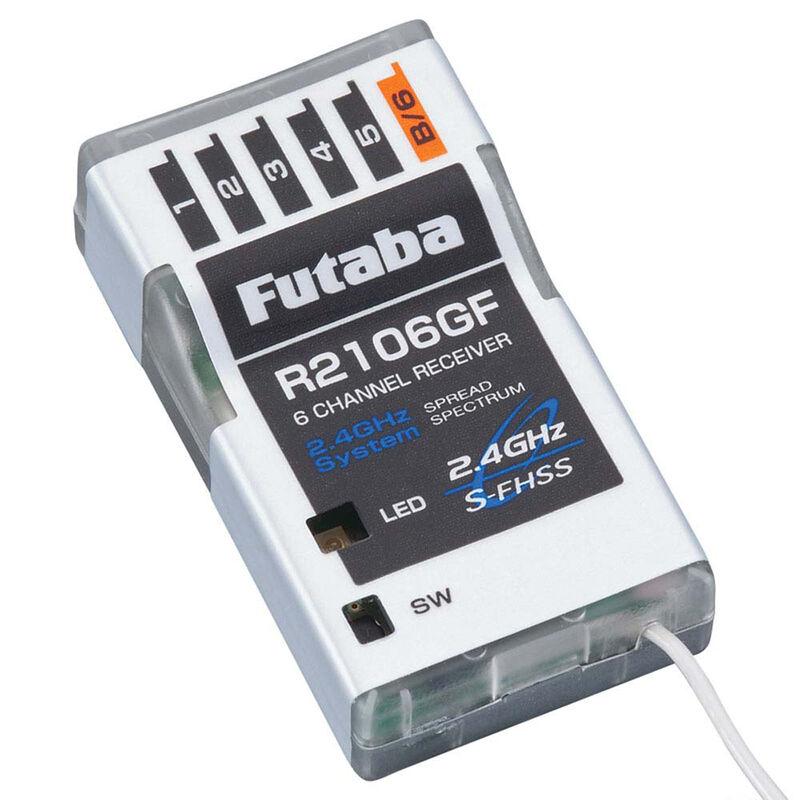 R2106GF 6-Channel S-FHSS Micro Receiver
