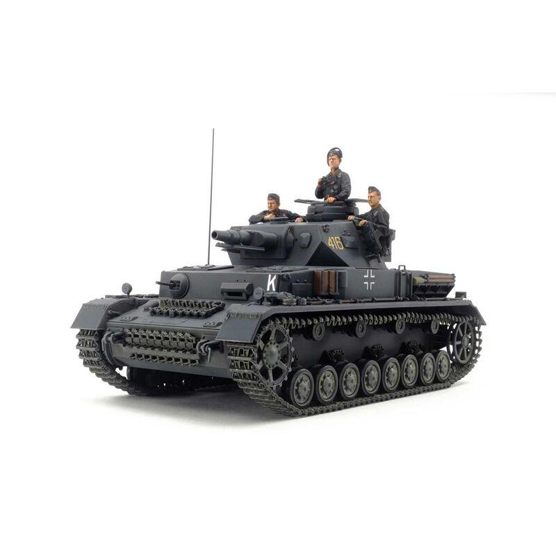 1/35 German Tank Panzerkampfwagen IV Ausf.F