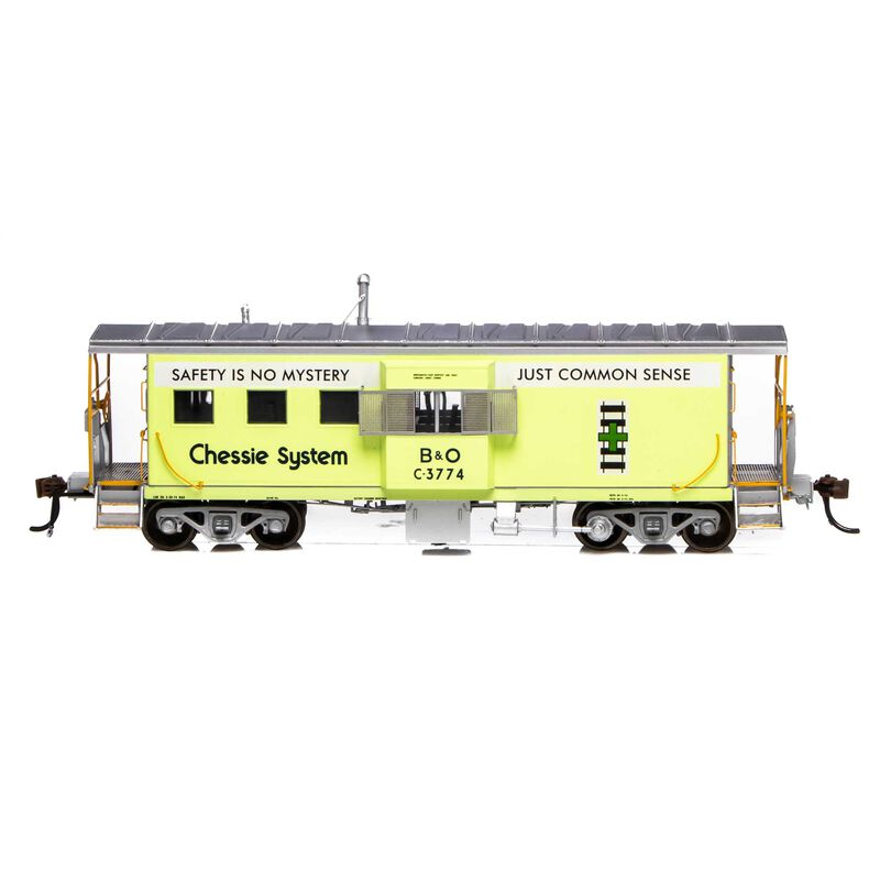 HO ICC Caboose with Lights B&O Chessie Green #C-3774