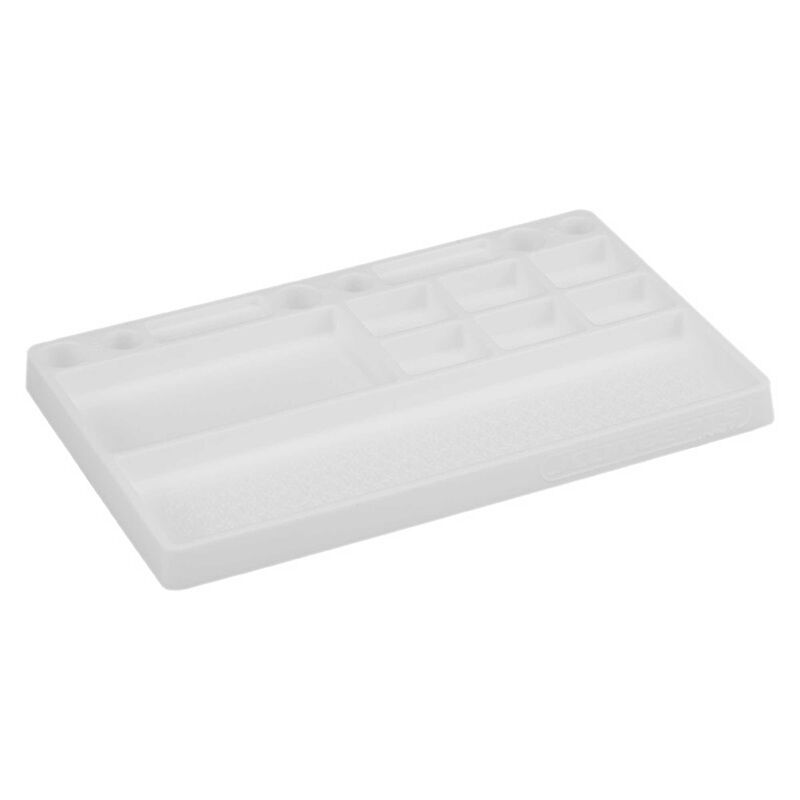 Parts Tray Rubber Material, White