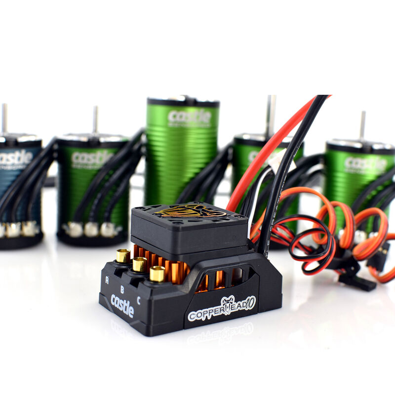 1/10 COPPERHEAD 1406-2280KV Sensored Brushless ESC/Motor COMBO