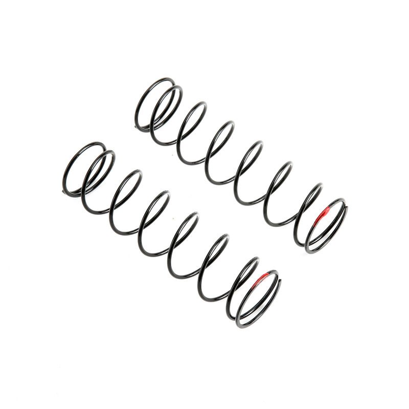 Rear Shock Spring, 6.1 lb Rate, Red: 5IVE B