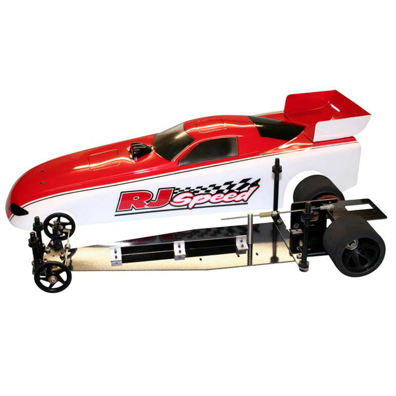 1/10 Electric Funny Car 2WD Dragster Kit, 13""