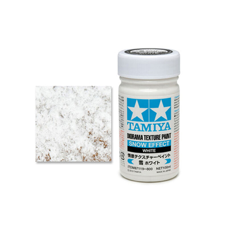 Diorama Texture Paint (Snow Effect)