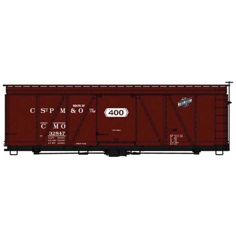 HO 36' Fowler Wood Boxcar CMO #32847