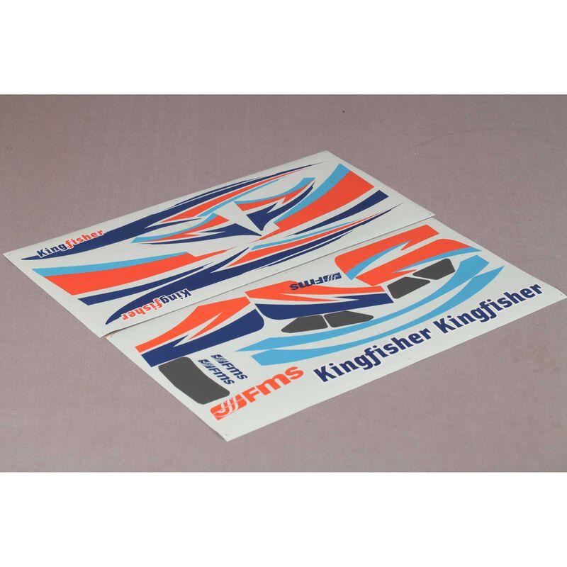 Sticker Set: Kingfisher 1400mm