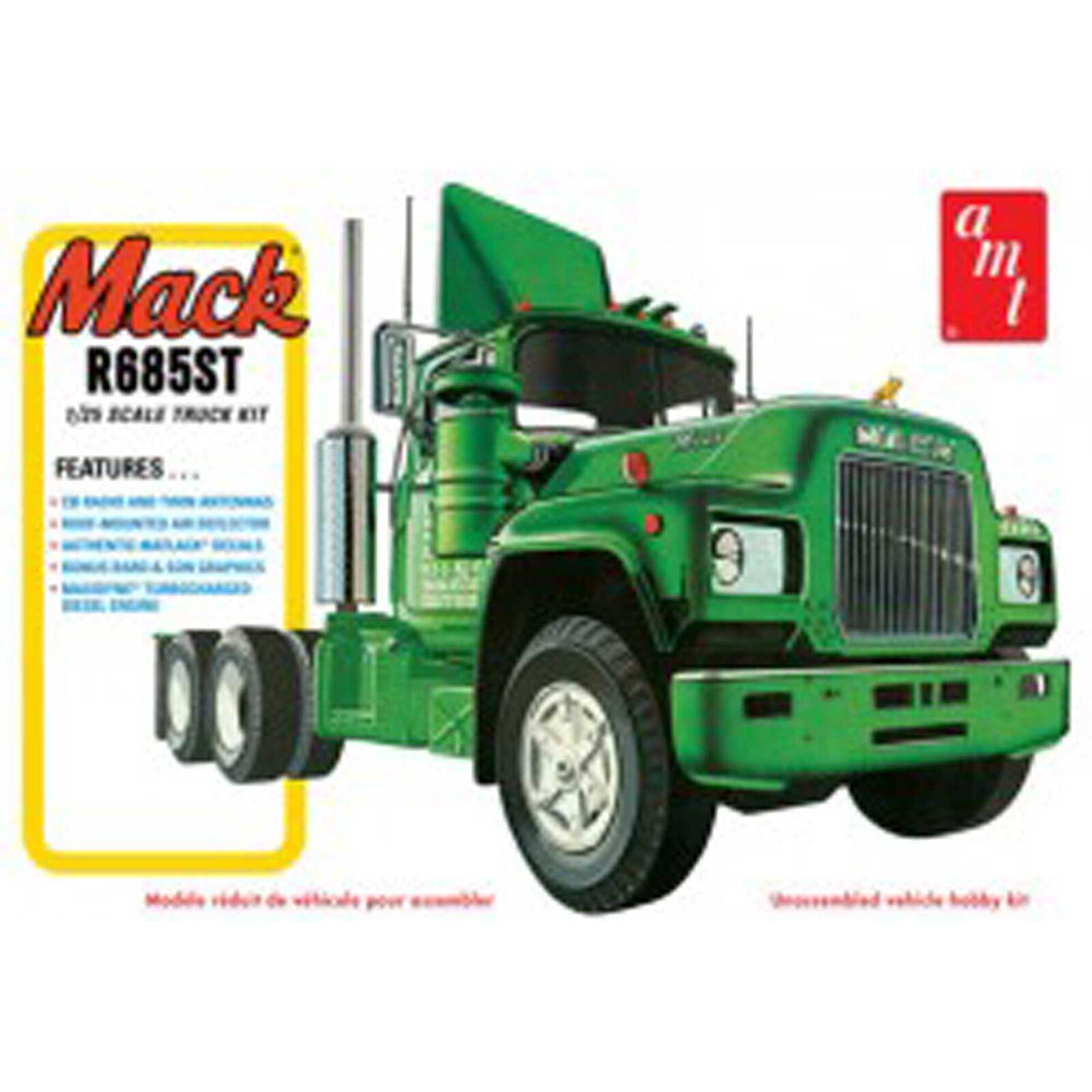1/25, Mack R685ST Semi Tractor, Model Kit