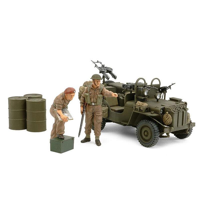1/35 British SAS Commando Vehicle 1944 w/2 Figures