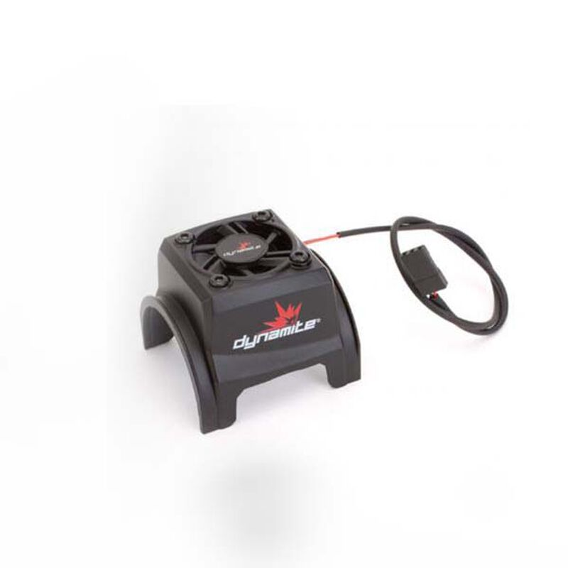 Motor Cooling Fan with Housing: 1/8