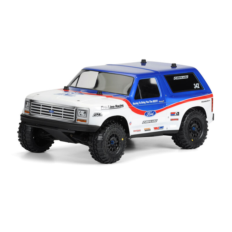 Clear Body, 1981 Ford Bronco: 1/10 Short Course Trucks