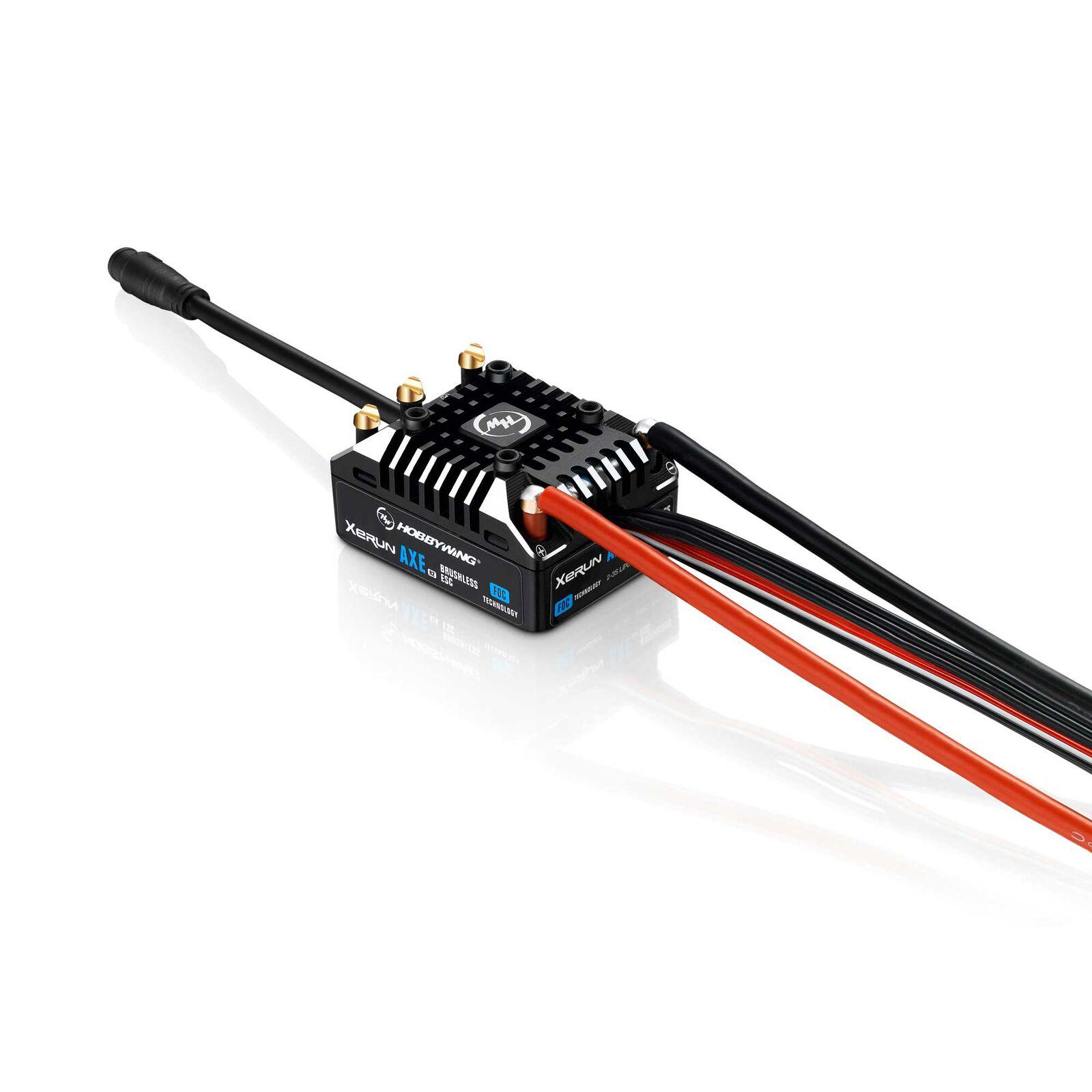 XERUN AXE 540L 2100Kv Rock Crawler Combo: R2-FOC