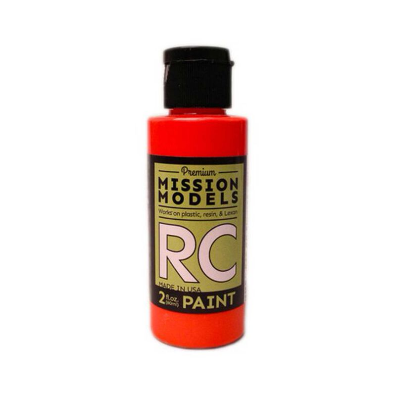 RC Fluorescent Racing Red 2oz
