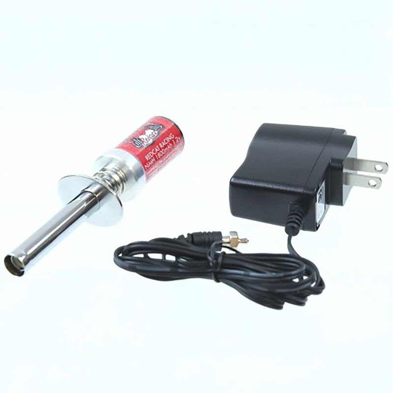 Glow Plug Igniter with Charger: EQ 3.5