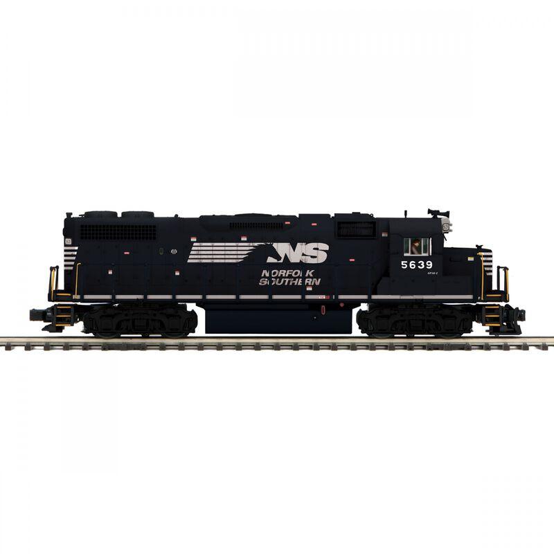 O-27 GP38-2 with PS3 Hi-Rail NS #5639