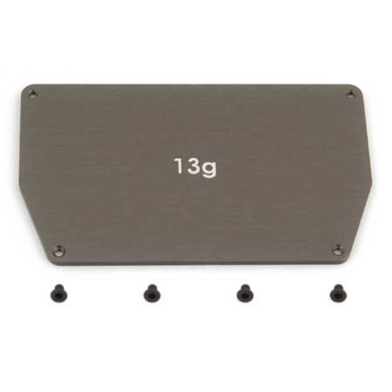 Factory Team Aluminum Chassis Weight 13g: B6