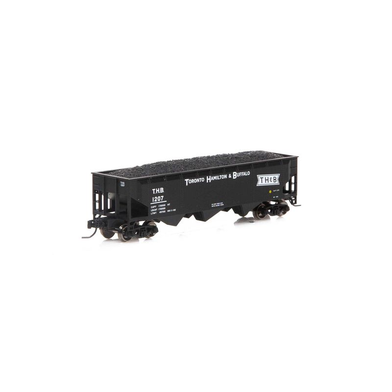 N 40' 3-Bay Offset Hopper with Load TH&B #1207