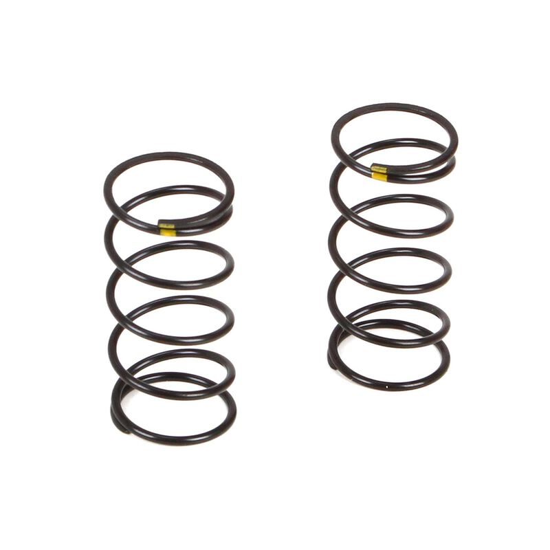Front Shock Spring Soft Yellow (2): TWH