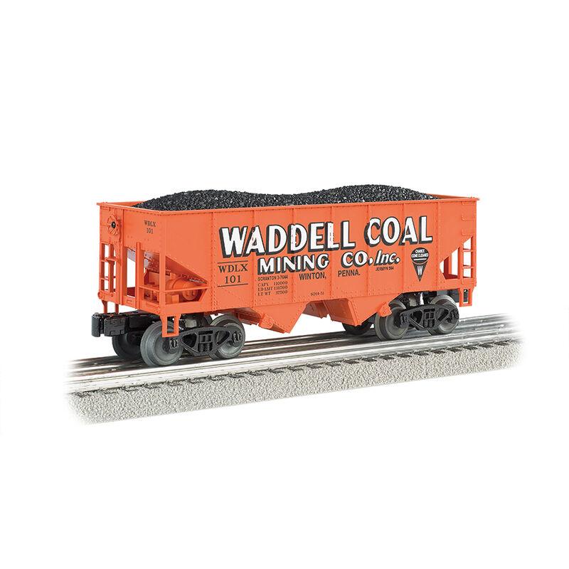N 55-Ton 2-Bay Hopper Waddell Coal