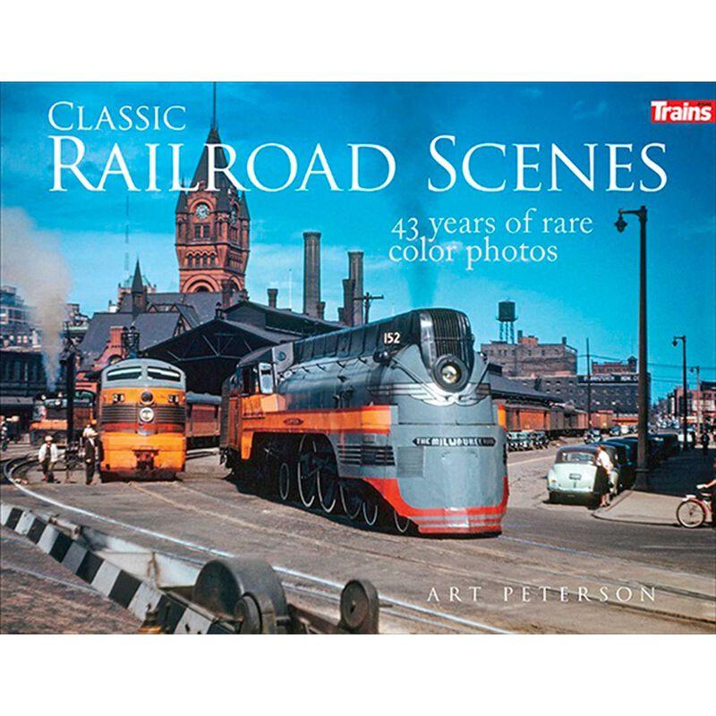 Classic Railroad Scenes Hardcover