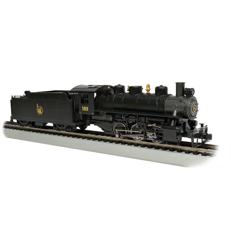 HO USRA 0-6-0 w DCC & Smoke CNJ