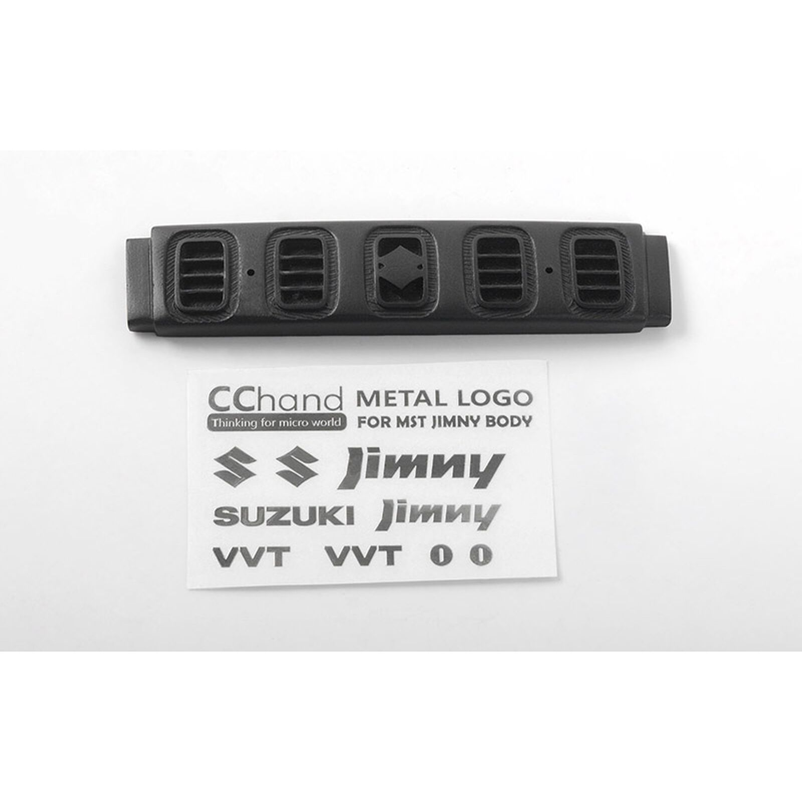 Frnt Metal Decal: MST 1/10 CMX with Jimny J3 Body