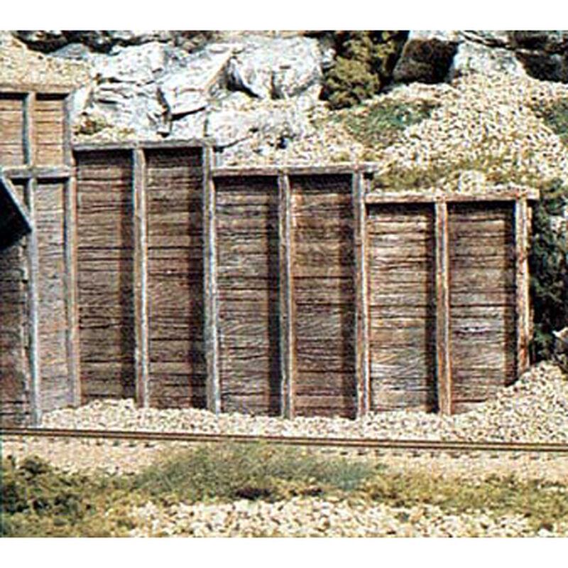 N Retaining Wall, Timber (6)