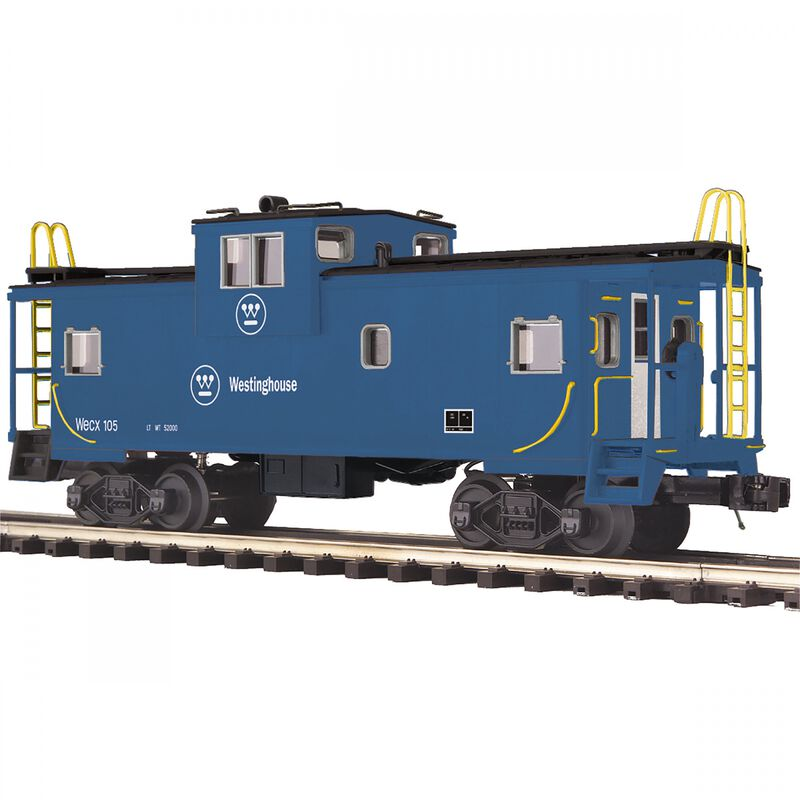O Extended Vision Caboose WECX #105