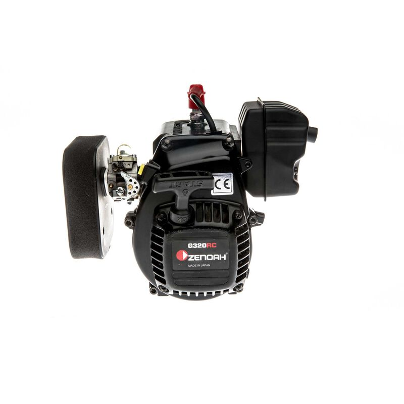 Zenoah G320 with air filter clutch: 5IVE-T 2.0