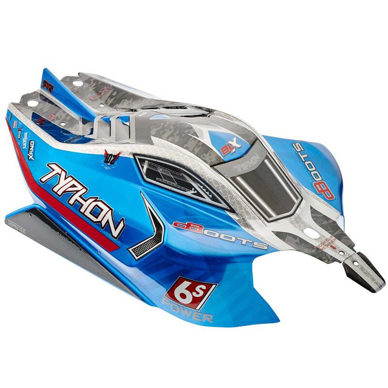 1/8 Painted Body with Decals, Blue: TYPHON 6S BLX