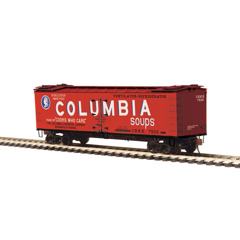 HO R40-2 Wood Reefer Columbia Soups #7502