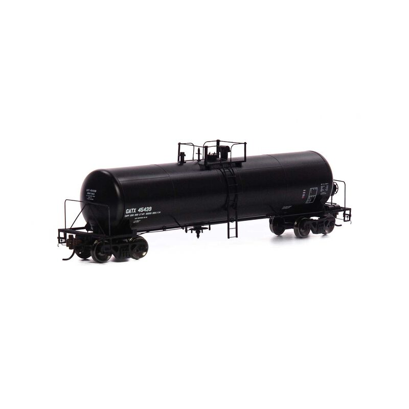 HO GATC 20K-Gallon GS Tank GATX, Black Early #45439