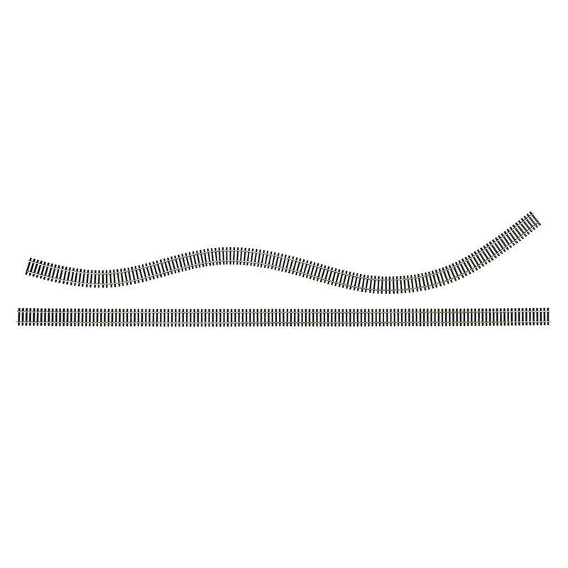 """HO 36"""" Code 100 Nickel Silver Flex Track (25)"""