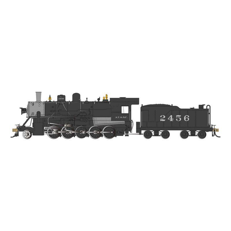 HO SP 2-10-0 with DCC ATSF #2456