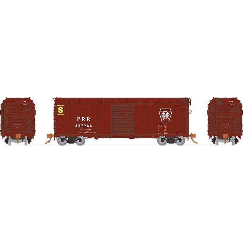 HO X31A Boxcar Single Door PRR Plain (6)