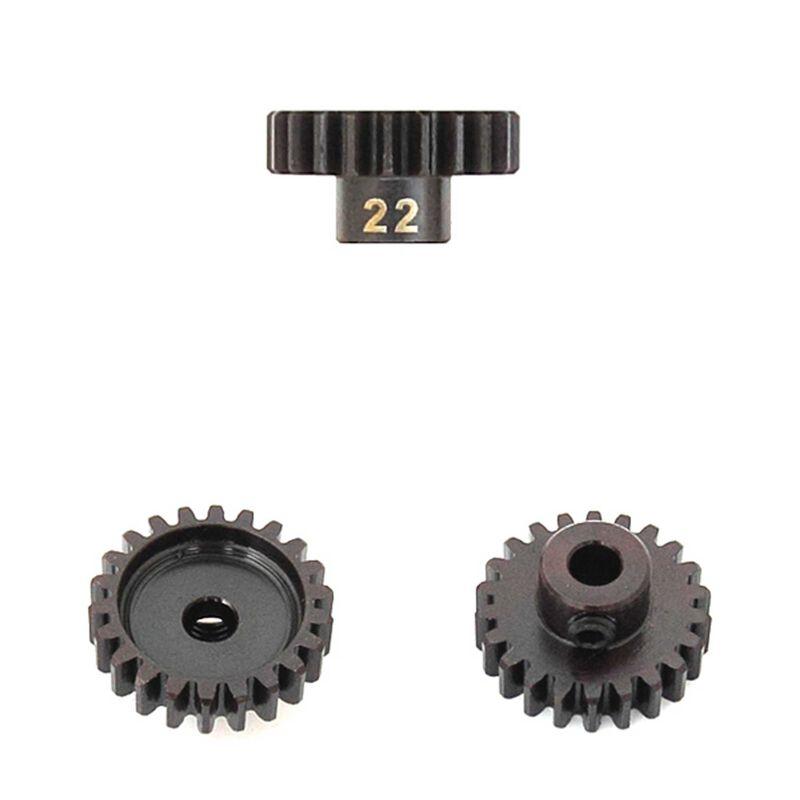 M5 Pinion Gear, 22T, MOD1, 5mm Bore, M5 Set Screw