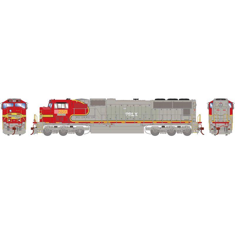 HO SD75M PRLX ex BNSF #250