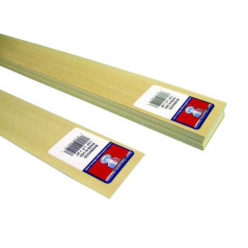 Basswood Sheets 1/32x2x24 (15)