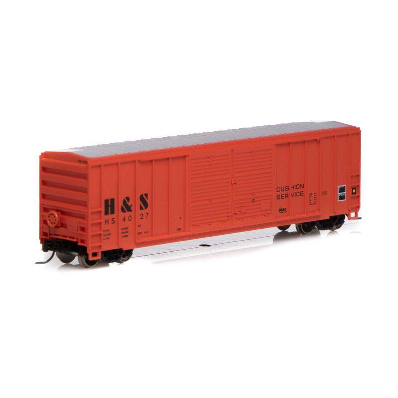 N 50' FMC Centered Double Door Box H&S #4027