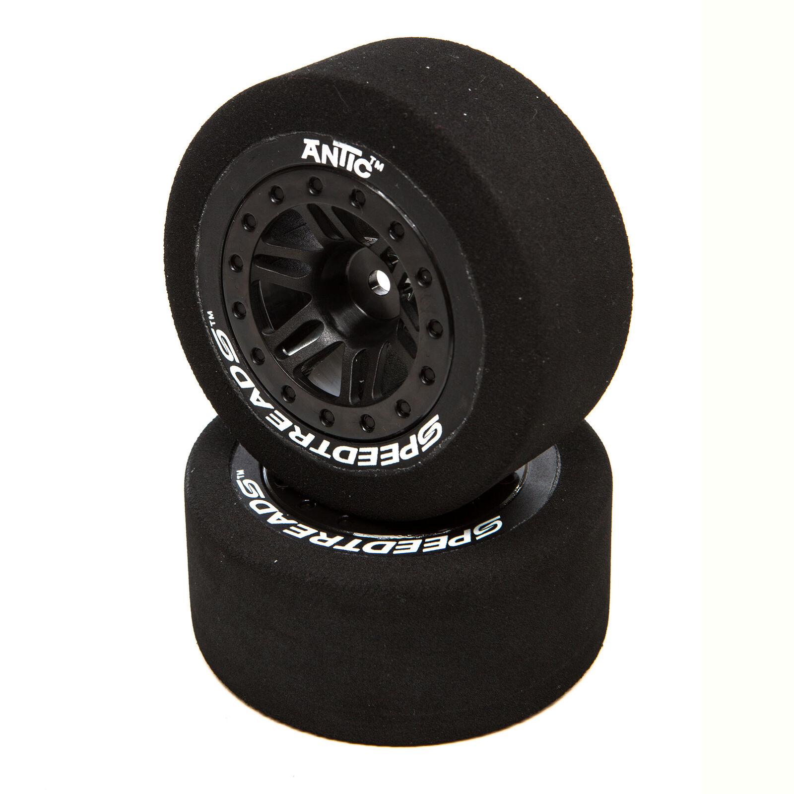 SpeedTreads Antic Foam SC Front Rear Mounted (2): Traxxas Slash/Rustler, ECX 4X4