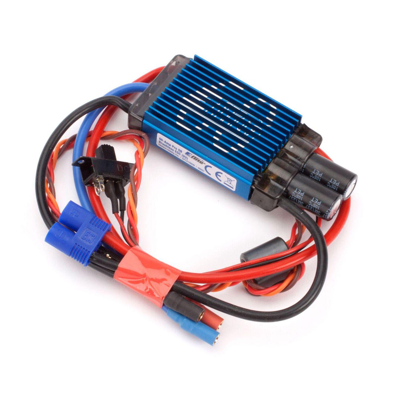 60-Amp Pro Switch-Mode BEC Brushless ESC V2: EC3